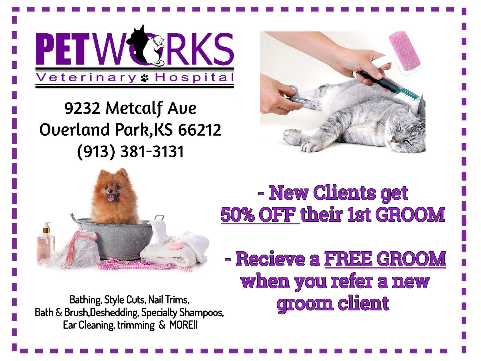 petworks grooming discount coupon